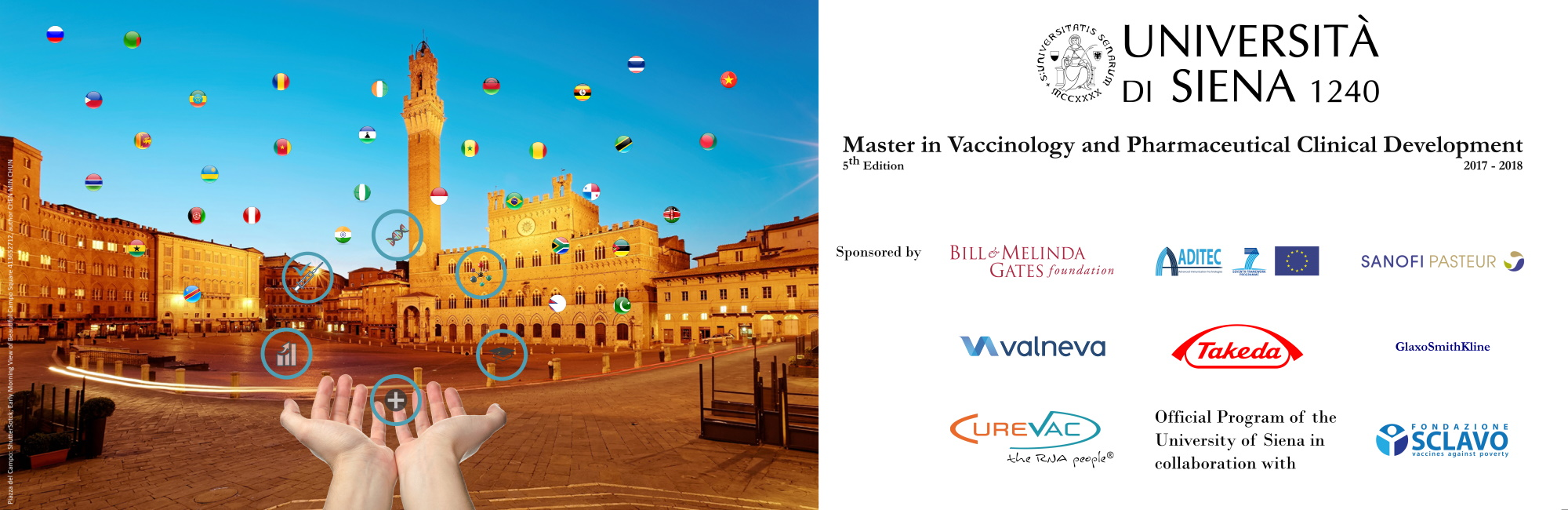 Master in Vaccinology and Pharmaceutical Clinical Development